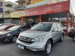 Honda CRv 2010 EXL 2.0 4x4 Top com Teto Banco de Couro Pneus Novos Raridade