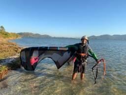 Aulas de kitesurf e equipamentos em Florianópolis