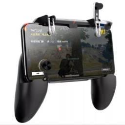 Controle para celular com gatilhos e analógico para Free Fire Pugb