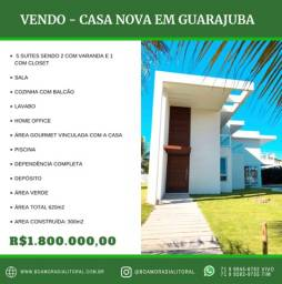 Casa de alto padrão no centro de Guarajuba//@boamoradialitoral