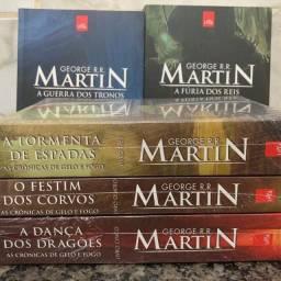 Coleção livros game of thrones
