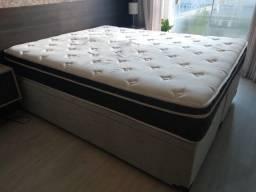 Colchão Maxflex Molas, com pillow - R$150,00