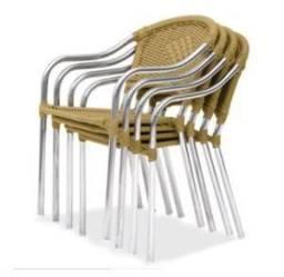 Cadeiras Empilháveis Fibra Sintética