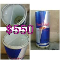 Freezer Redbull em formato de lata
