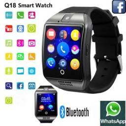 Smartwatch Q18 Premium, Aceita Chip e Cartão de Memória!!!