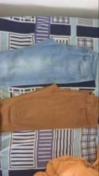 2 calças Taco Jeans seminovas