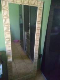 Espelho com moldura 160cm x 65cm