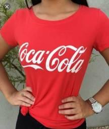 Blusas Tshirt vários modelos