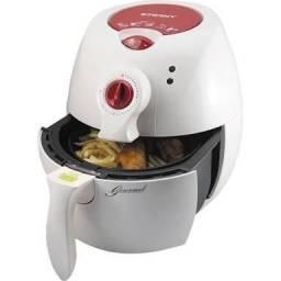 Fritadeira Fryer Eterny Branca E Vermelha