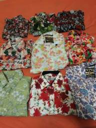 Camisas floral masculina tamanho g, só caruaru 25 reais cada