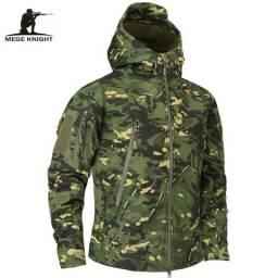 Casaco Jaqueta Masculino Inverno Estilo Militar camuflado M-10