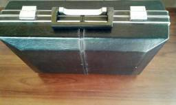 Raridade - Mala Toca Discos Portátil - Linda Mala da Década de 70 - Funcionando