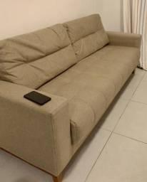 Lindo sofá de linho