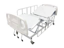 Cama Hospitalar 03 manivelas