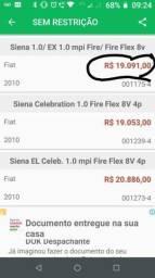 Vendo fiat siena fire flex 1.0 completo - 2010