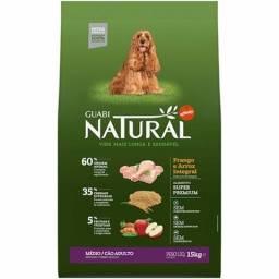Ração Guabi Natural Cães Adultos Médio Frango e Arroz 15 kg