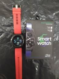 Relógio Smart Watch com entrada pra chip e cartão de memória