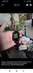 Smartwatch iwo 8 branco e preto