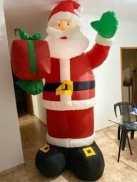 Papai Noel inflável.3 mts de altura ,para vender hj