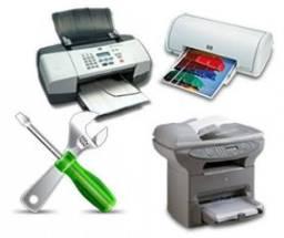 Manutenção de impressoras HP, Canon, Epson, lexmark