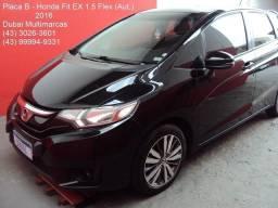 Honda Fit EX 1.5 FlexOne (Modelo Novo) - Câmbio Aut/CVT - Placa B - 2016