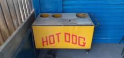 Carrinho de cachorro quente