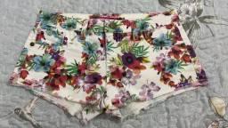 Short florido riachuelo