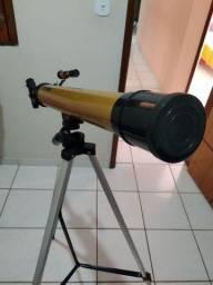 Telescópio Astronômico Refrator 100x de aproximação