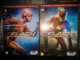 Box dvd the flash 1 e 2 temporadas