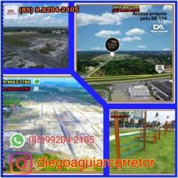 Invista no melhor !Loteamento Terras Horizonte R$ 169,70* !