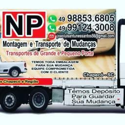 NP Montagem e Transporte De Mudança