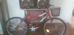 Vendo bicicleta vermelha