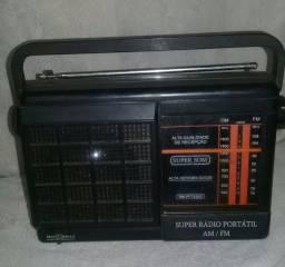 Rádio portátil motobras