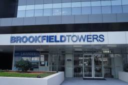 Salas e Lajes comerciais no Brookfield Tower