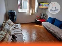 Apartamento com 1 dormitório à venda, 47 m² por R$ 160.000,00 - Tupi - Praia Grande/SP