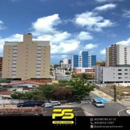 Apartamento com 3 dormitórios à venda, 82 m² por R$ 389.000 - Manaíra - João Pessoa/PB