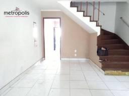 Sobrado com 2 dormitórios para alugar, 80 m² por R$ 2.000,00/mês - Santa Maria - São Caeta