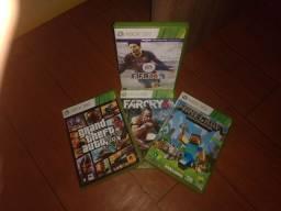 4 jogos Xbox 360 originais