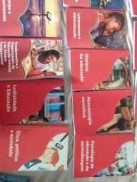 Livros usados, para pedagogia.