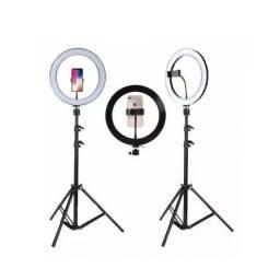 Luz de Selfie com Tripé Grande-(Lojas Wiki)