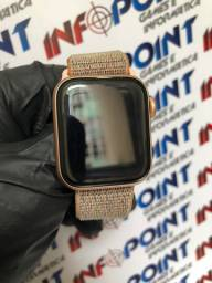 Hoje - Apple Watch Serie 4 40mm Gold c/ cel - Seminovo -Loja Centro de Niterói