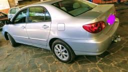 Vendo ou troco Corolla 2005 completo todo revisado top zap *