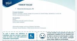 Estamos contratando Motoristas de Entrega dos produtos AmBev em Araraquara.
