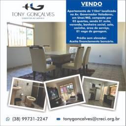 Apartamento de 110m² localizado no centro de Unaí/MG | Aceita financiamento