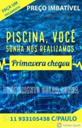 Piscina de VINIL, FIBRA Laminada