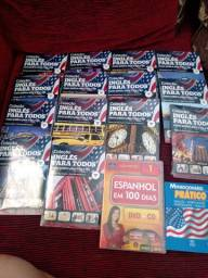Coleção de livros inglês para todos.