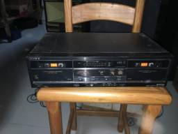 Cassete double Tape Deck TVC-Td-W106 Stereo