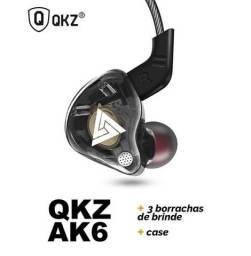 Fone de retorno profissional Qkz Ak6