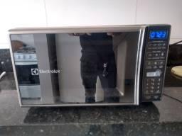 Forno microondas 27 litros Electrolux - 10 meses de garantia