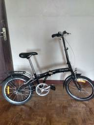 Bicicleta dobrável marca Blitz, modelo City